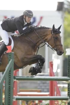 Ben Asselin of CAN riding Wahrhaftige