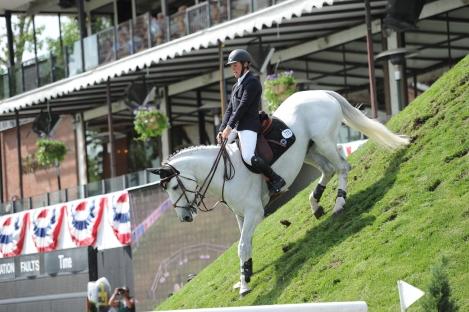 Ben Asselin of CAN riding Doremi